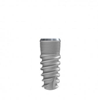Seven internal hex. implant dia. 4.20 L 10mm