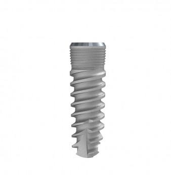 Seven internal hex. implant dia. 4.20 L 13mm