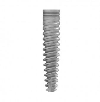 Seven internal hex. implant dia. 3.30 L 16mm NP