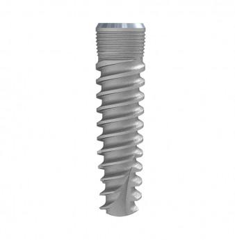 Seven internal hex. implant dia. 4.20 L 16mm