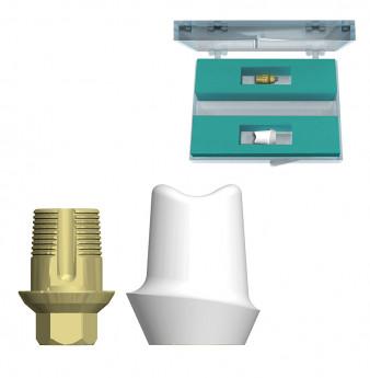 Custom premolar abutment set int. hex. connection, SP