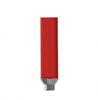Direct gold plastic cylinder with hex. NP