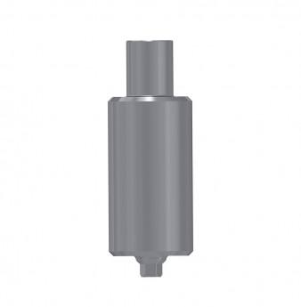Titanium blank ?9mm, anti rotation, int. hex., NP