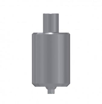 Titanium blank, anti rotation, int. hex., NP