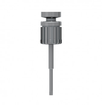 Extra-long hex. drive 0.05 inch