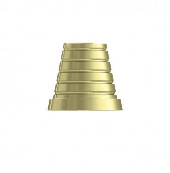 CAD CAM cementing cap for multi unit
