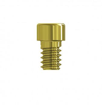 Prosthetic gold screw for multi unit
