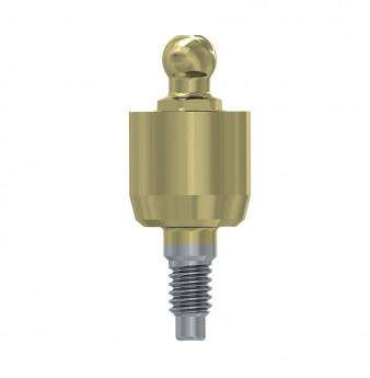 Wide ball attachment anchor internal hex. 5mm