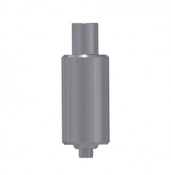 Titanium blank ?9mm, anti rotation, int. hex., WP