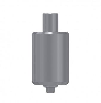 Titanium blank, anti rotation, int. hex., WP