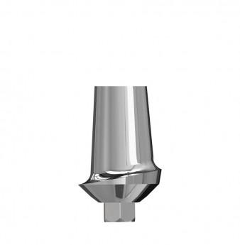 Wide esthetic abutment internal hex. 1mm