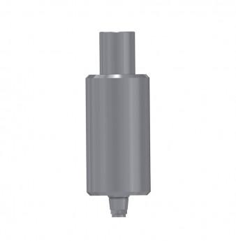 Titanium blank ?9mm, anti rotation, coni. con., V3 NP