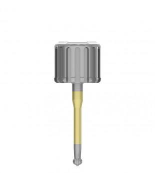 Long ratchet key for EZ-Base abutment