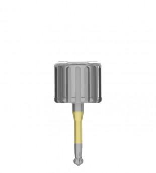 Short ratchet key for EZ-Base abutment